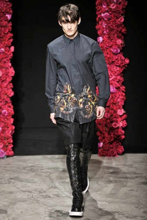 mens givenchy leather pants