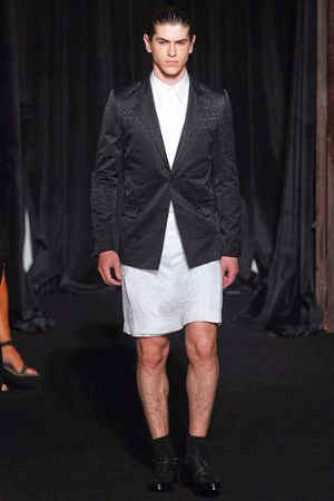 givenchy jacket for men - male model paris fashion week