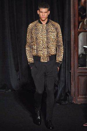 givenchy coats for men leopard print