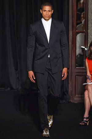 black suits for men by givenchy