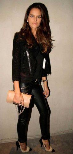 faux leather pants custom mamba