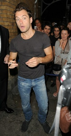 dior homme jeans jude law