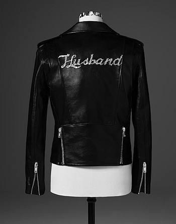 justin bieber leather jacket by celine