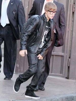 leather jacket for boys justin bieber fashion style