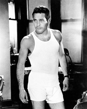 paul newman boxers and tank top shirts