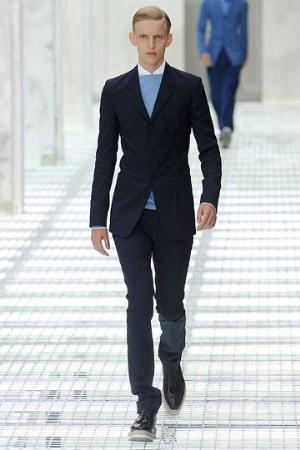 prada jackets for men dark blue color photos