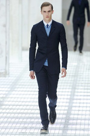 slim fit suits for men prada