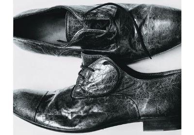 black formal shoes hugo boss
