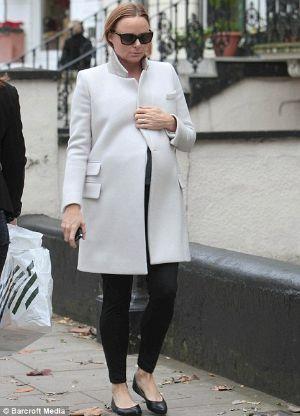 winer maternity clothes stella mccartney long coat