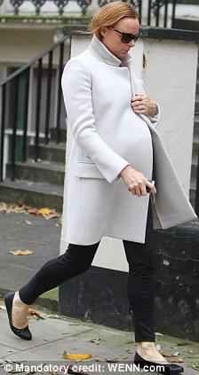 coats for pregnant women stella mccartney white long coat