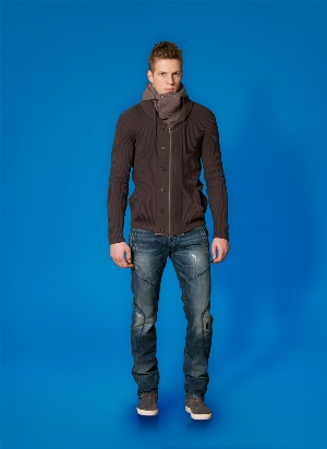 brown sweaters for men - spring 2011 fashion menswear by diesel