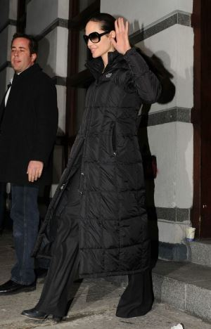 winter coats for women angelina jolie north face
