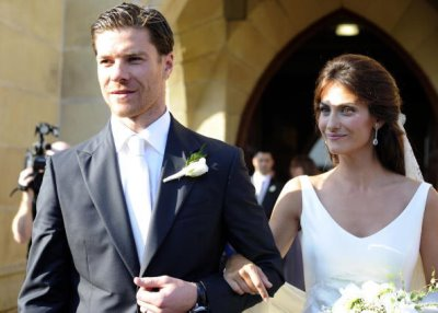 xabi alonso wedding Nagore Aranburu