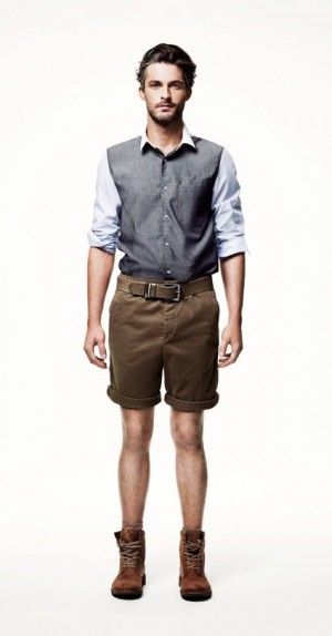 mens short pants - spring menswear collection