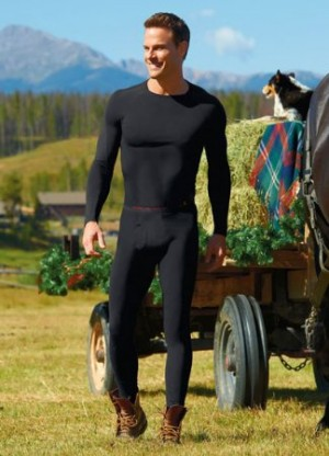 jockey thermal underwear for handsome men