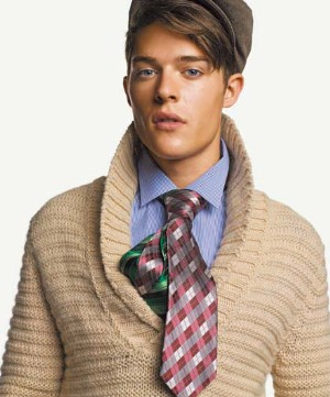 brown sweaters for men by benetton italian fashion brand