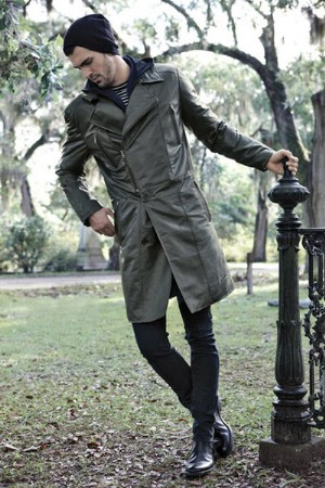 danier leather coat for men