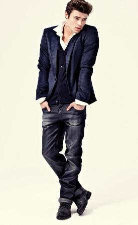 italian jeans for men by gaudi denim style