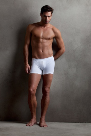 white boxers for men - scala brazilian underwear