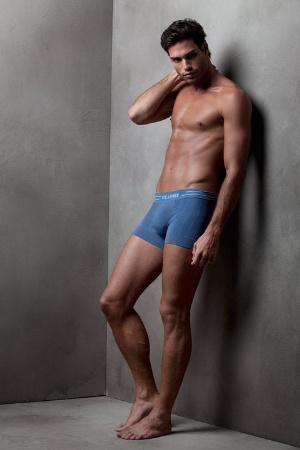 blue boxers underwear