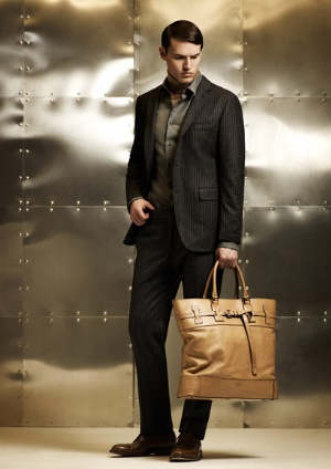 black suits for men - fall winter fashion style from daks