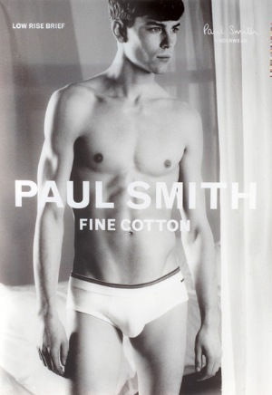 paul smith underwear for men model jeremy young