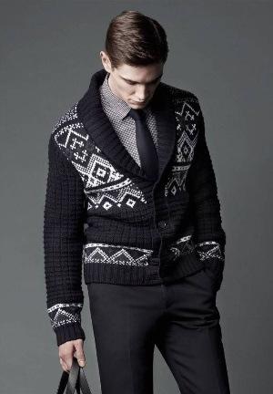 designer cardigan for men by joop