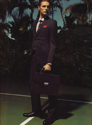 male models in suits mathias berg gucci