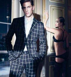 male models in suits by joop