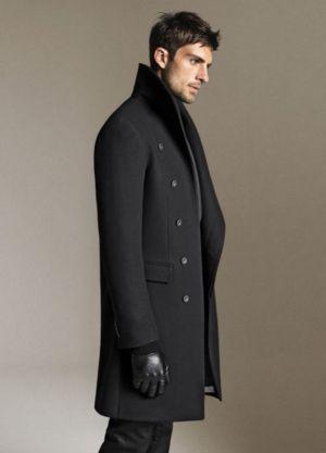 zara mens coats - long coat - autumn menswear
