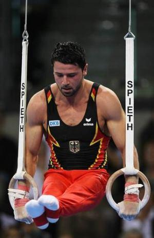 german male gymnasts robert weber
