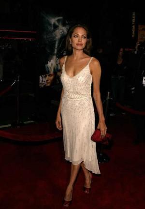 angelina jolie red carpet dresses jill stuart dress