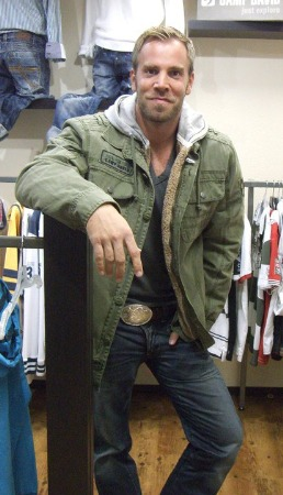 military style jacket for men