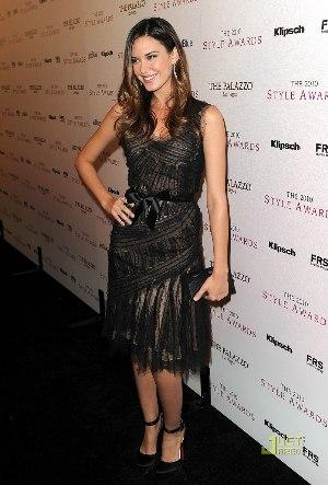 celebrity black dress