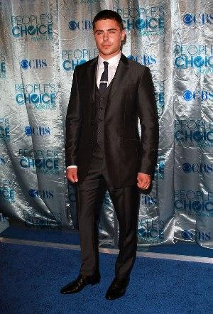 zac efron tuxedo suit