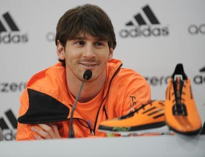 Lionel Messi Sponsors List - F50 adiZero4