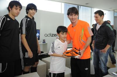 Lionel Messi sponsors list - adidas