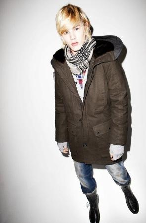 luke worrall male model