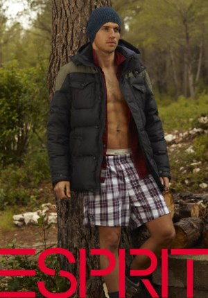 esprit boxer shorts - plaid
