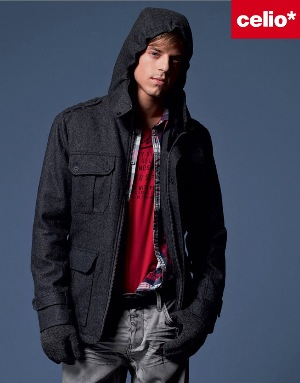 french winter jackets by celio