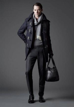 long winter coat for men by joop