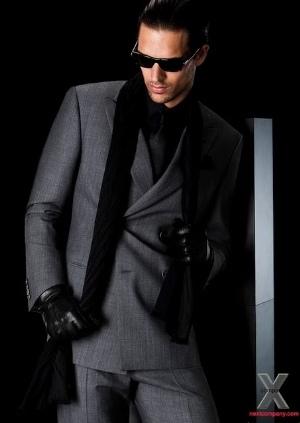 armani winter suit for men