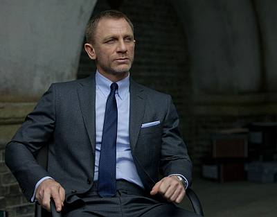 bespoke suit london - daniel craig by tom ford