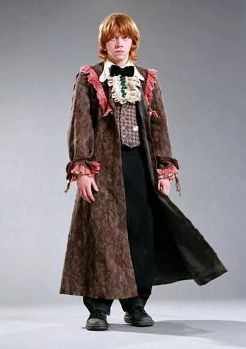 best military jacket not ron weasley on yule ball