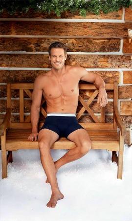 brett holland models boxer briefs mens winter underwear