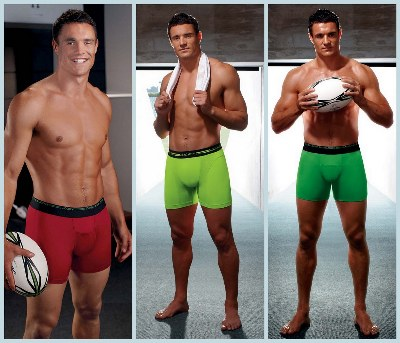 dan carter rugby player jockey underwear series