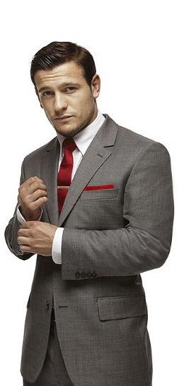 celebrities wearing bespoke suits for men