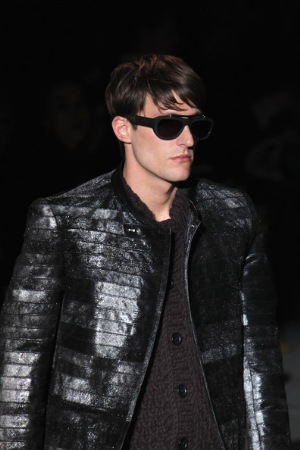 designer leather jacket for men by louis vuitton - french leather