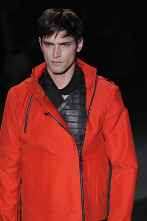 cool orange look hot male fashion style