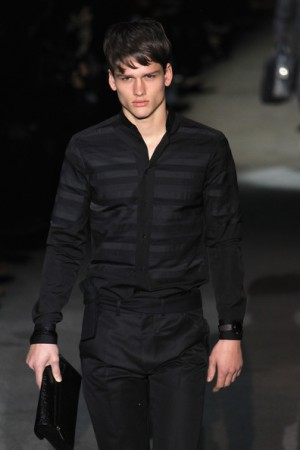 classy sexy black shirts for men - louis vuitton